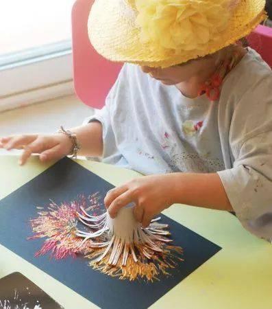 木块幼儿创意画
