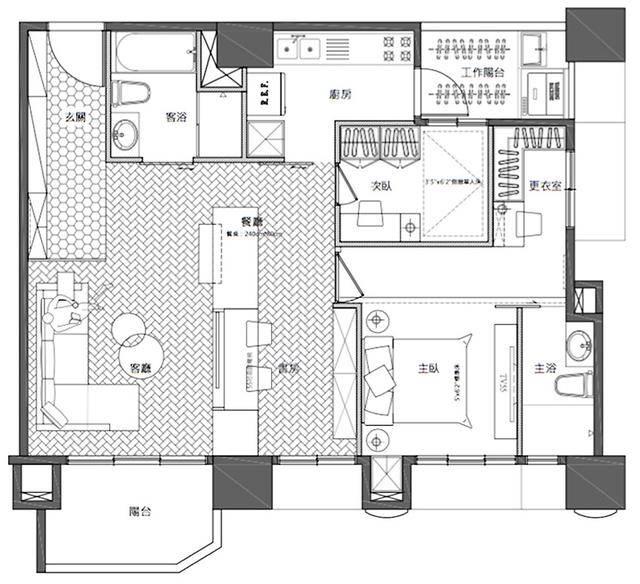 房间尺寸设计图纸