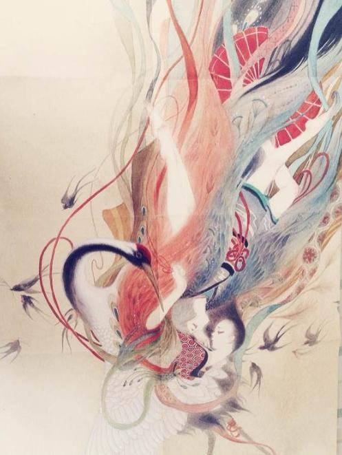 手绘山海经妖兽图(妖绘卷十七图)