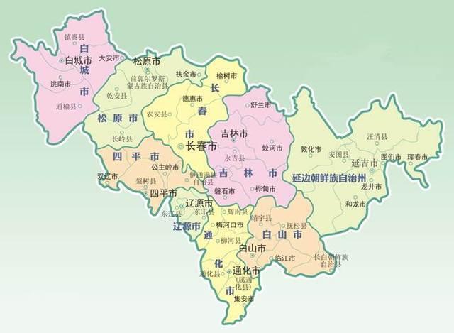 东北九省_1954年8月1日,东北行政委员会决定,长春市改为吉林省辖市.
