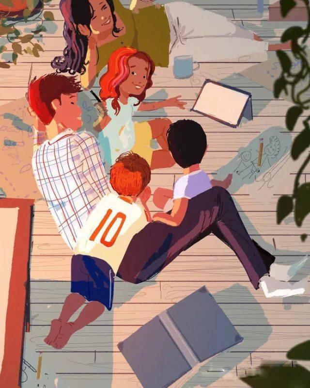 父母对孩子发脾气的结果,也只能是让孩子对作业会产生厌烦,跟爸爸图片