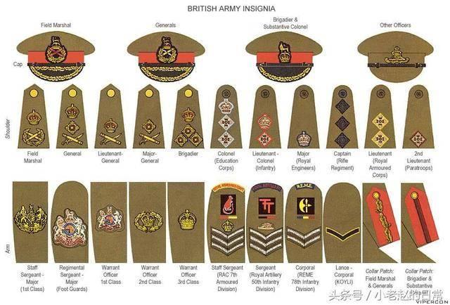 日本军衔_二战各国军衔纵览:日本,英国,波兰,法国,看了长见识