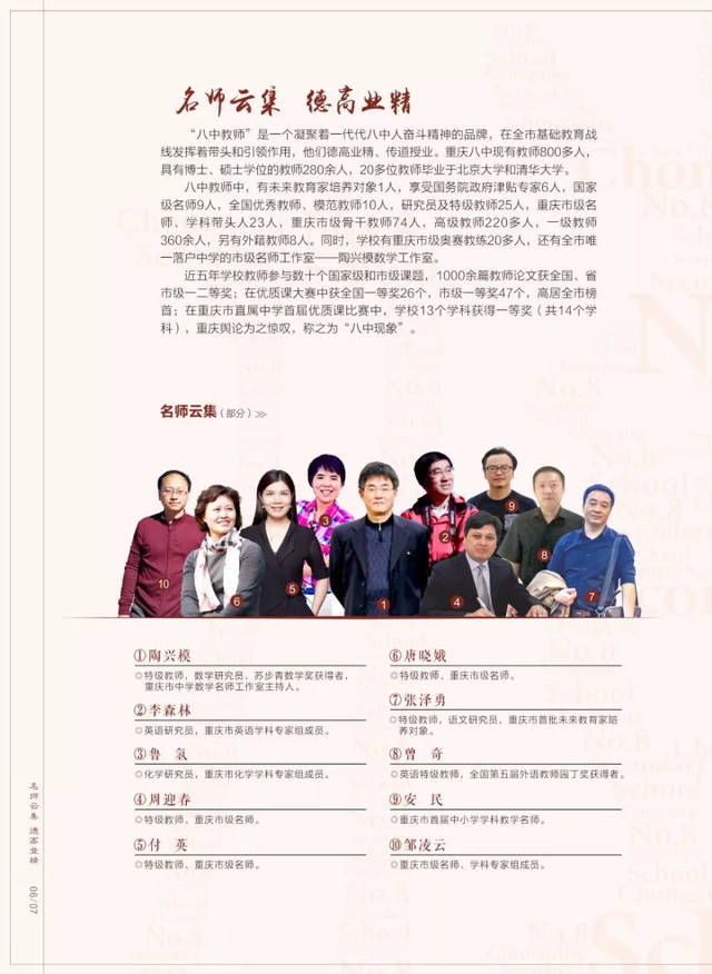 最新重庆八中2018招生简章,报名初中签约!(可汇总登记欧美萝莉信息图片