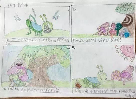 【光华小学】小绘本,大创意 —光华小学语文主题活动绘本创作纪实图片