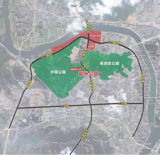 詳解韶關城市公園新規劃!有圖有真相!圖片