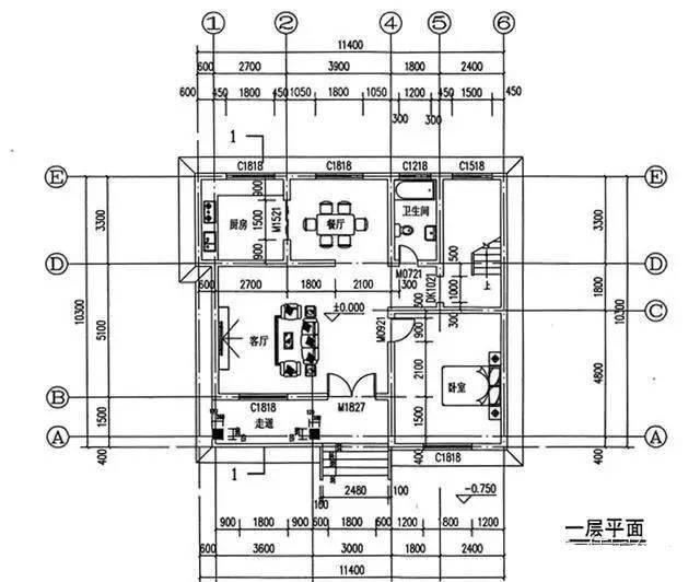 乡下200平米平房设计图