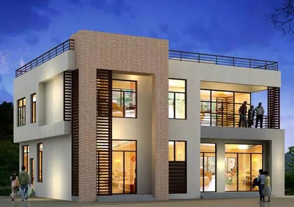 12款现代农村别墅设计,房子要是建成这样,城里人也要回农村了