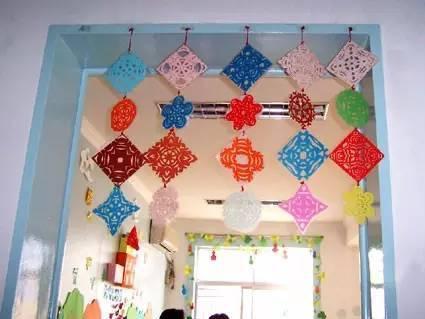 【环创】幼儿园元旦手工+主题墙+吊饰,赶快收藏吧