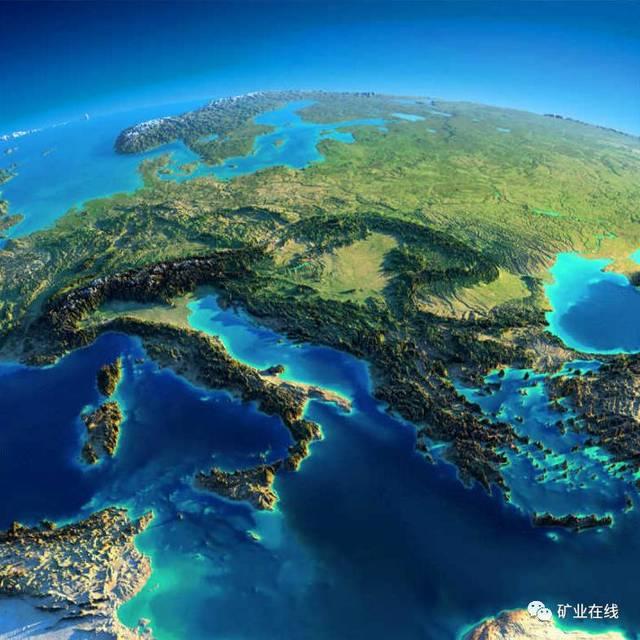 南欧地中海沿岸各国,主要由巴尔干半岛,亚平宁半岛和周边小岛组成.图片