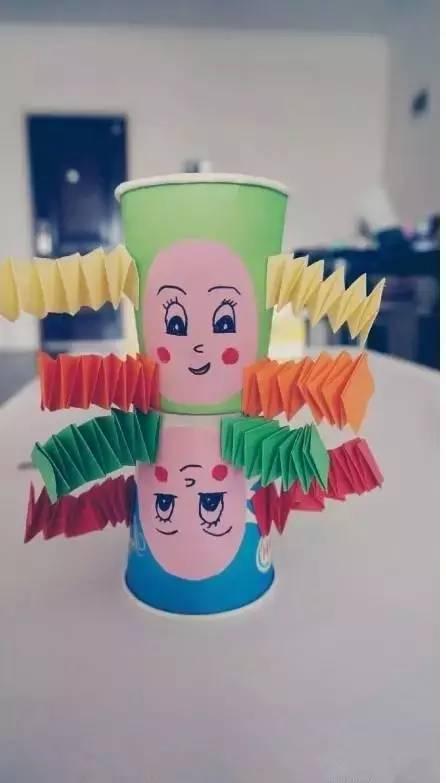 幼儿纸杯手工制作图片,供大家参考