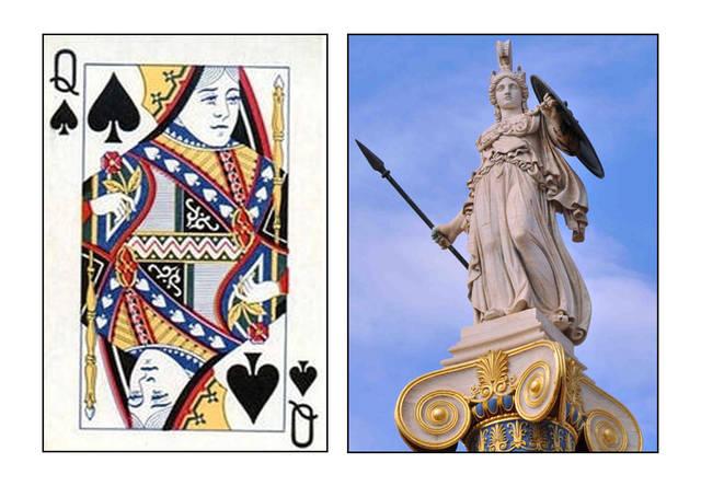 雅典娜是希腊神话中的奥林波斯十二神之一;智慧女神,农业与园艺的保护