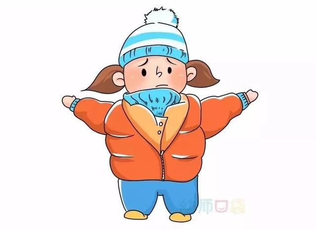 午睡   宝宝:穿的太多了,穿脱衣服好累啊  户外运动   宝宝:穿得太多了,动不起来怎么办  上下楼梯   宝宝:裤子穿太厚了,脚迈不开,爬楼梯好累啊 我们可以发现这样穿并不利于幼儿的健康成长 那到底怎样科学穿衣呢?  冬季穿衣的五大建议 1 太厚的里衬不易散热 太厚的衣物不能很好地散热,反而会积攒汗水,导致里衬的衣物潮湿 推荐  为孩子选择全棉质地的里衬,这样的衣物会比较吸汗哦 2 长款外套限制孩子活动 长外套挡住了幼儿的腿部,影响幼儿的自由活动 推荐  选择中短款的羽绒服,不要超过