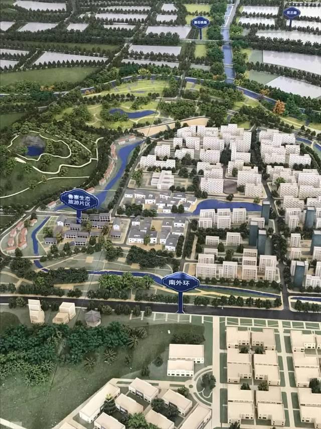 济宁经济开发区规划图曝光,疃里和马集将要变成什么样