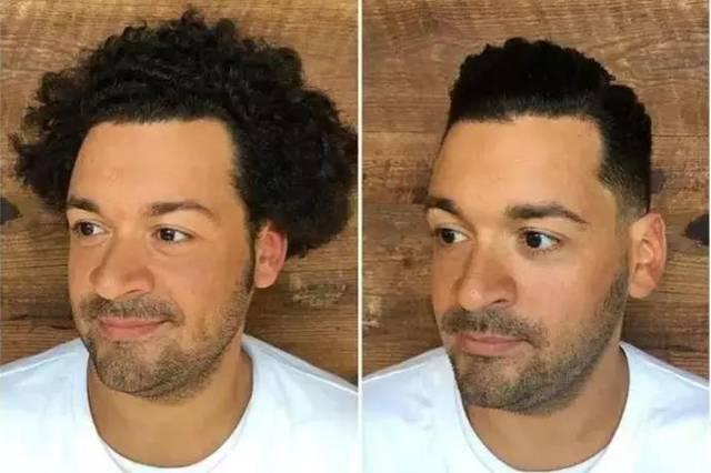 男生脸大 矮个子,可以留这3款发型!图片
