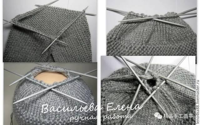 罗宾帽:最简单,而且很时尚的一种帽子的织法