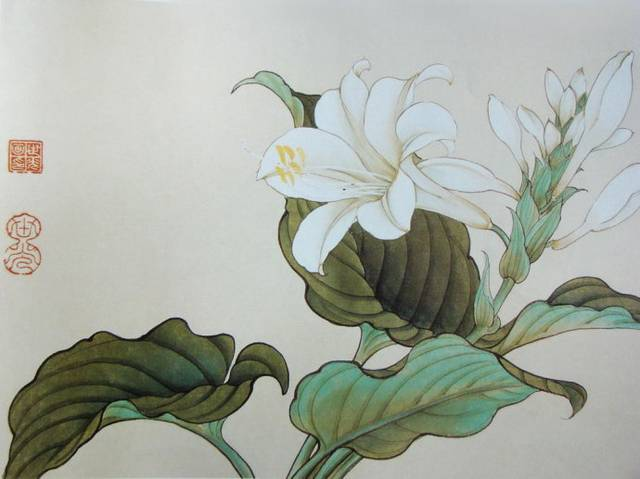 荣宝斋工笔花卉画谱,值得珍藏!图片