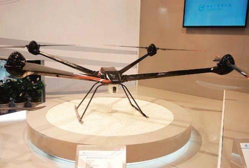 x-m20:变距多旋翼无人机图片