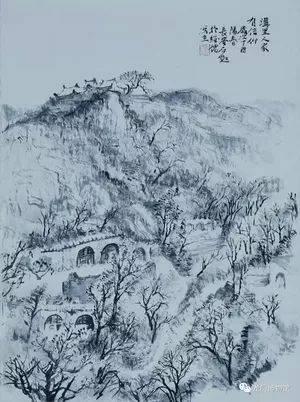 现为中国国家博物馆特聘研究员,石鲁艺术研究中心研究员,陕西长安画派图片
