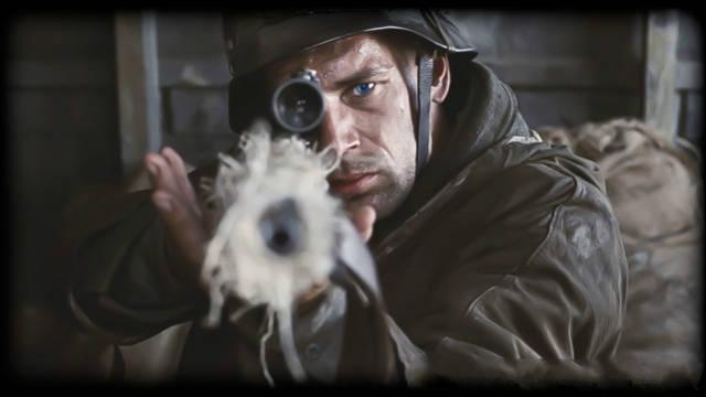 哥来射影院_这瞄准镜能防弹:被狙击手一枪射穿镜筒,美国大兵却奇迹生还