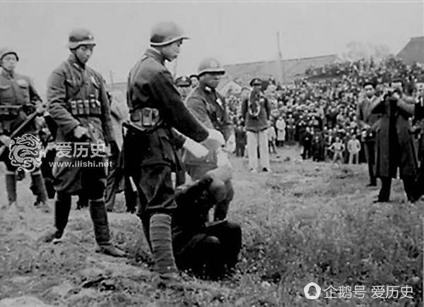 南京大屠杀首犯谷寿夫死刑全过程 没到刑场吓得腿都软