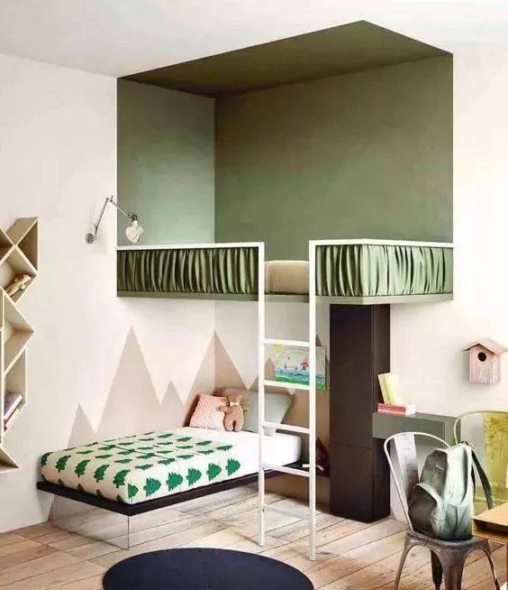 儿童房设计成上下床好不好?专家分析完吓一跳,还好装修前看到了