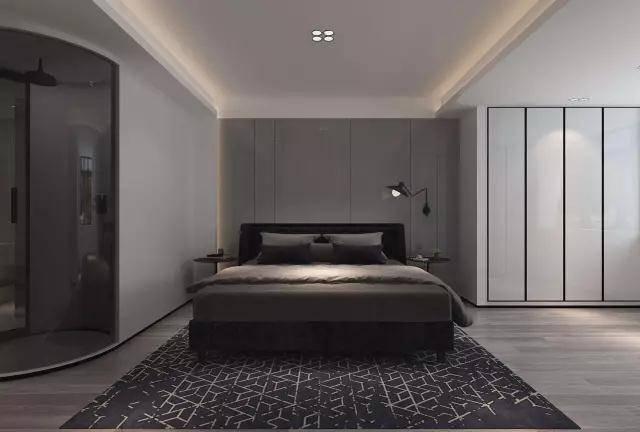廊桥金科苏州155平极简案例室内装修设计风格建筑设计ue4图片