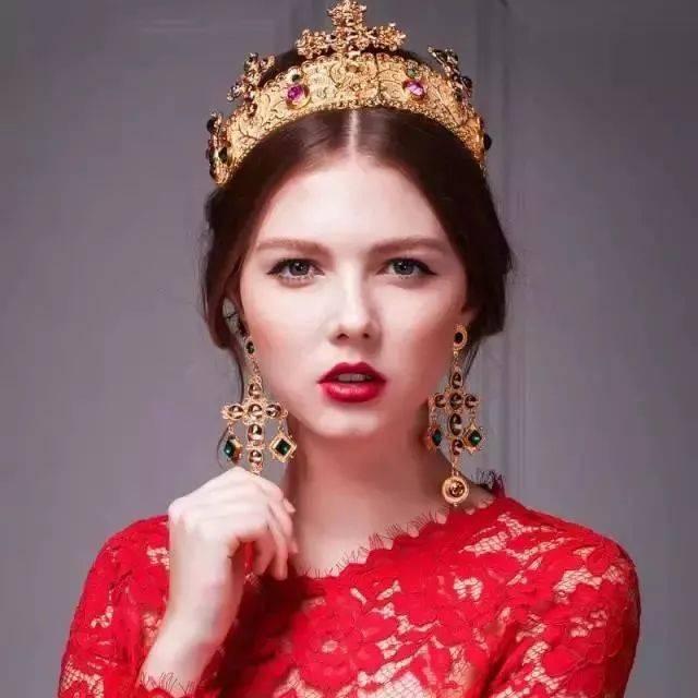 附视频|手工制作新娘皇冠,美到人醉了!图片