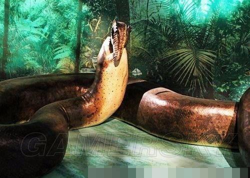 四,洪荒巨蛇:泰坦蟒 作为怪兽恐怖片的主角,巨蟒曾在系列电影《狂蟒