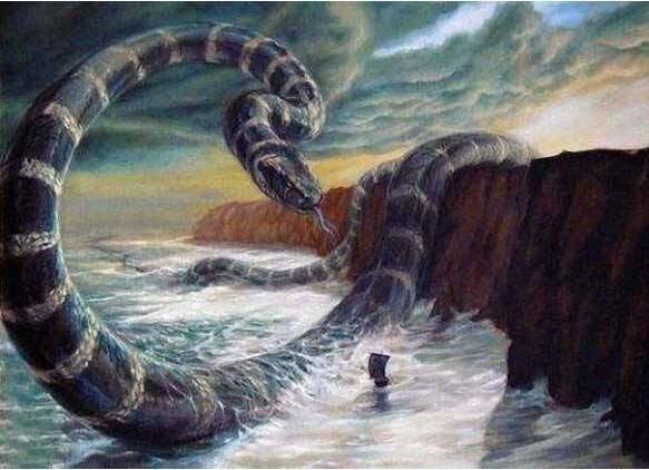 一,沃那比蛇(远古第一巨蛇)