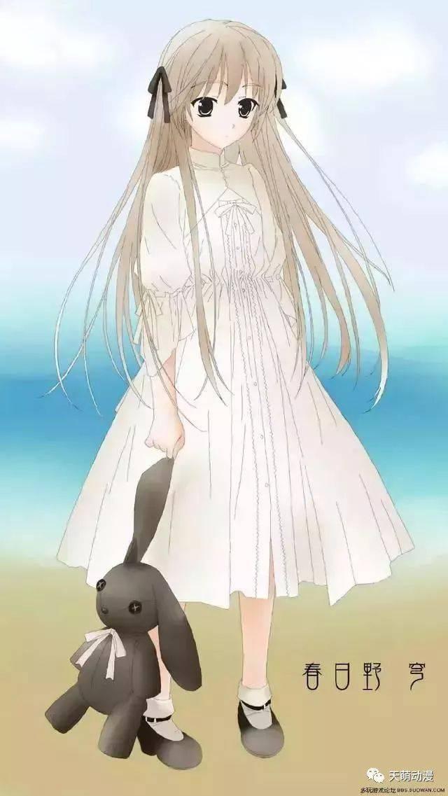 十二星座卡通萝莉囹�a_十二星座对应的动漫白发萝莉,看看你会是谁呢