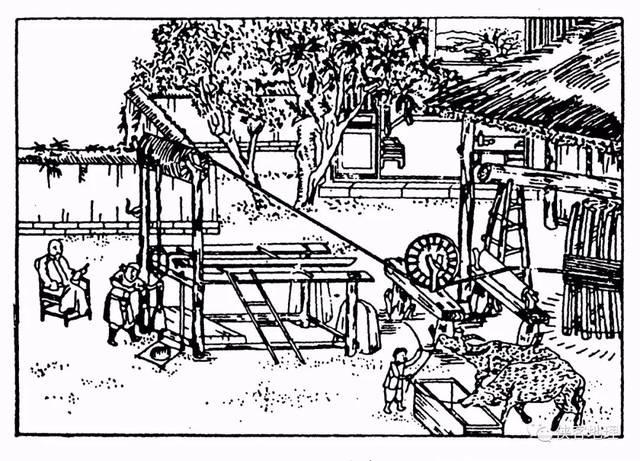古代凿井流程:凿大口
