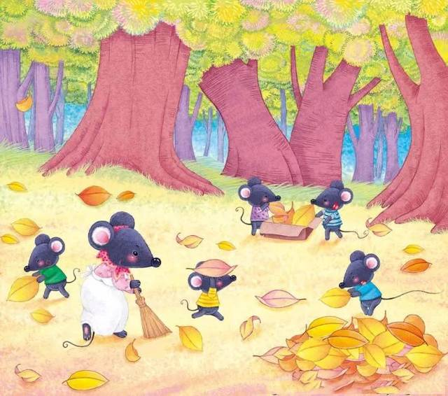 儿童睡前故事|小老鼠和落叶.