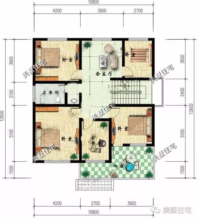 8x12.6米徽式农村自建房,施工简单,马上上手