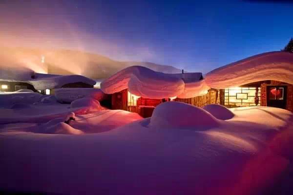 东北雪乡_东北雪乡,有你不曾见过的雪景
