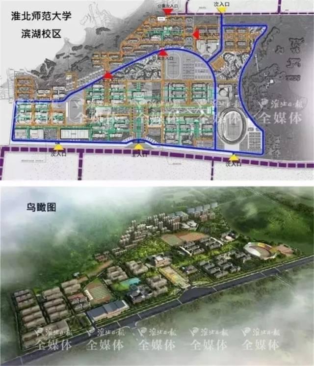 淮北中湖规划图_东边有座\