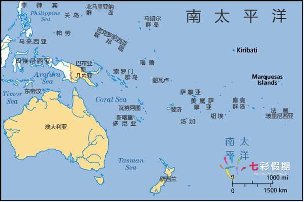 南太平洋幼女性交平_南太平洋岛国地图