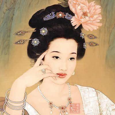 绝色美女杨贵妃到底有多胖?图片