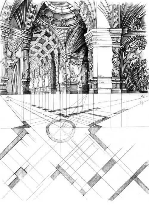前辈们的cad手绘建筑图纸,看完后绝对佩服!
