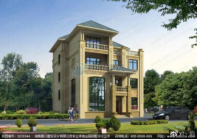 四层别墅设计图纸_欧式四层豪华别墅设计全套图纸