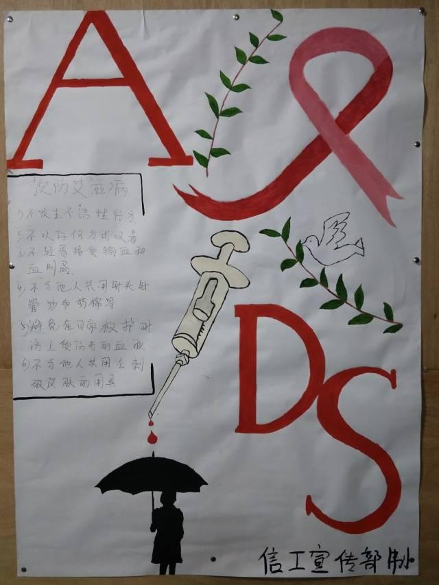 板报评比   信息工程学院《预防艾滋病》主题黑板报评比活动 附:获奖