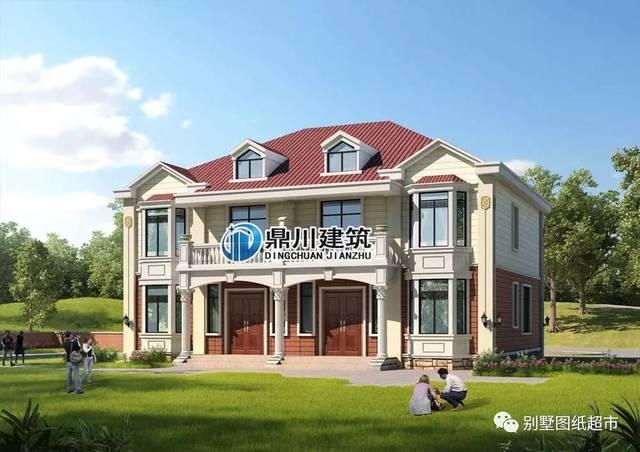 最受欢迎7款二层双拼别墅,兄弟和睦又省钱,全家人都满意!