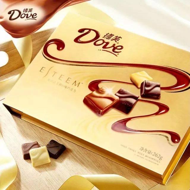 德芙精心之选多种口味巧克力280g