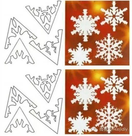 来源:科技小制作 上海的冬天,总是缺少北方冬天的银装素裹, 上海的冬天,总是有太多的雨水伴随 比如今天,又下雨了 今天,小玩童就和大家分享一下手工剪纸, 亲手剪一朵不一样的雪花,来装点上海的冬天!  主要材料:纸、 所需工具:剪刀 制作步骤:第1步取一张正方形的纸,对角折