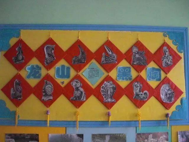 【东城天下大风车双语幼儿园】——中国风环创,让孩子图片