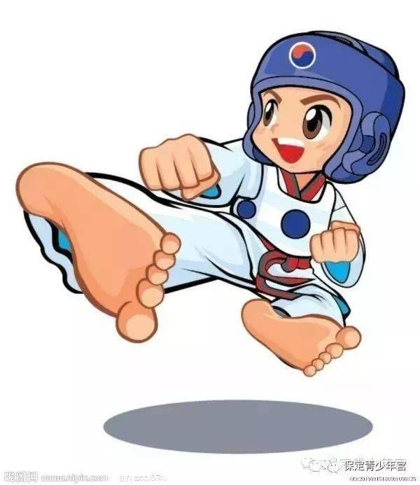 天行健跆拳道图片