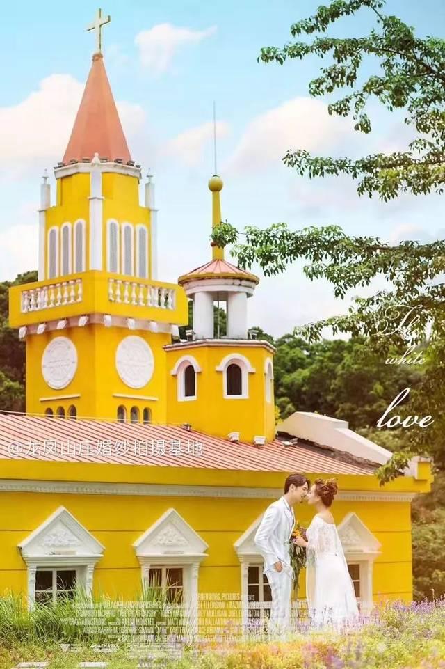 """以""""玫瑰礼堂""""为核心的欧式风情园 玫瑰礼堂集西方建筑文化的精髓 法国"""