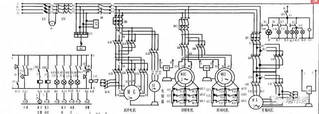 【知识篇】杭州华诚tc5510塔吊电路原理图与维修