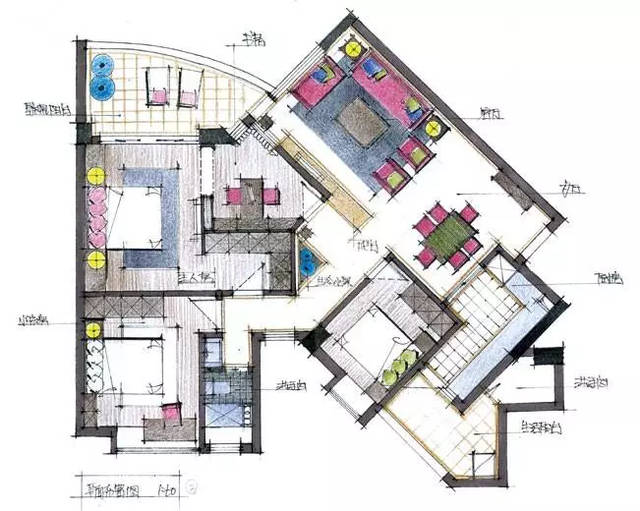 室内空间】考研快题设计范本#干货分享图片