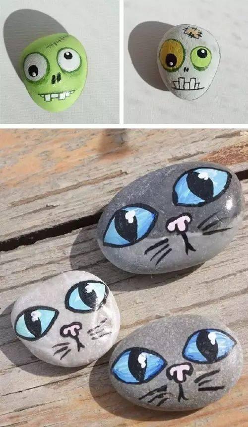 简单的小石头,还能                    吗?能!图片