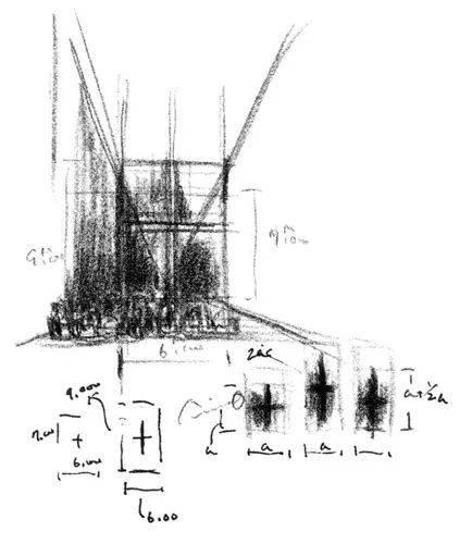 这些设计图太过潦草 至少也能看出一点房屋的雏形 而下面这几位的手稿